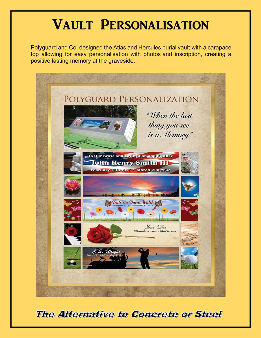 Poly Vaults Canada Personalization